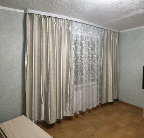 Продам шторы вместе с тюлью