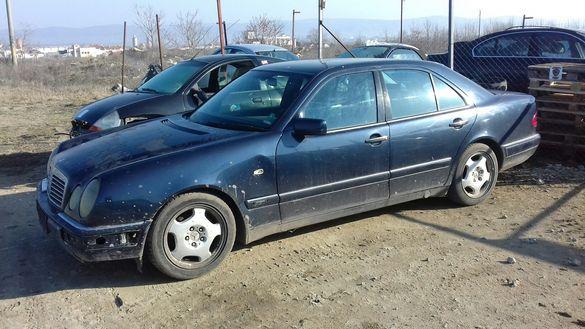 Mercedes W 210 E 250 1999 Мерцедес Е 250 В 210 1999 ръчка -=НА ЧАСТИ=-