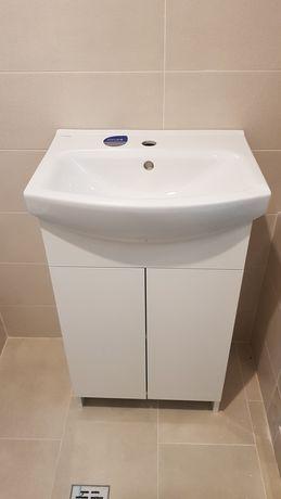 Set baie lavoar + mobilier Cersanit Cersania