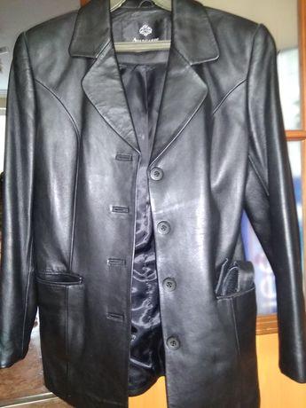 Кожанный пиджак 44-46р