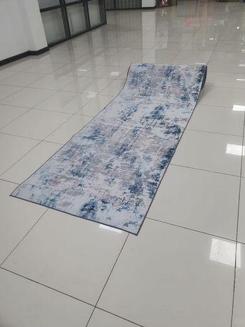 Коврик в рулоне модная потертость, ковер ширина 100 см