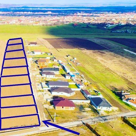 Teren 500 m2-toate UTILITATILE:asfalt,apa,canalizare,curent,gaz viitor