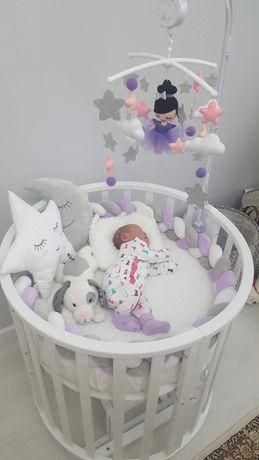 Кровать 8в1 полностью оформленная