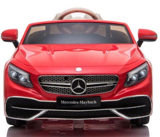 Masinuta electrica Mercedes S650 MAYBACH PREMIUM #Rosu