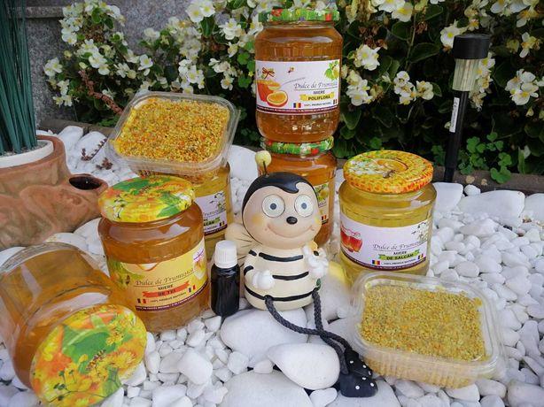 Miere de albine, salcâm, tei și poliflora