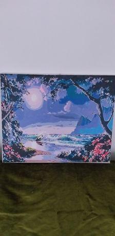 Tablouri   pictate   pe panză