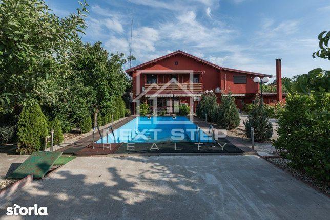 Vila cu teren 7500 mp in Peris sat Balteni Padurea Scrovistea cu comis