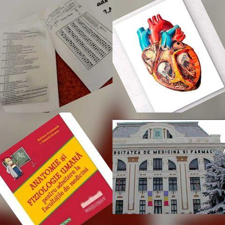 Materiale admitere medicina UMF Târgu Mureș plus carte