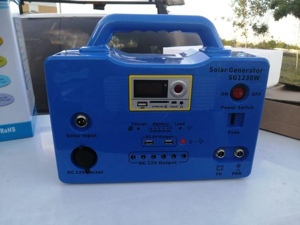 Мини портативная система на солнечной батарее 30Вт/час