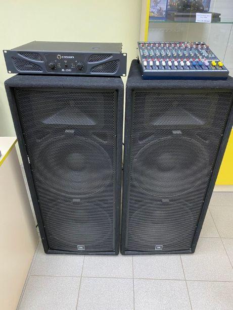Мощная акустическая система