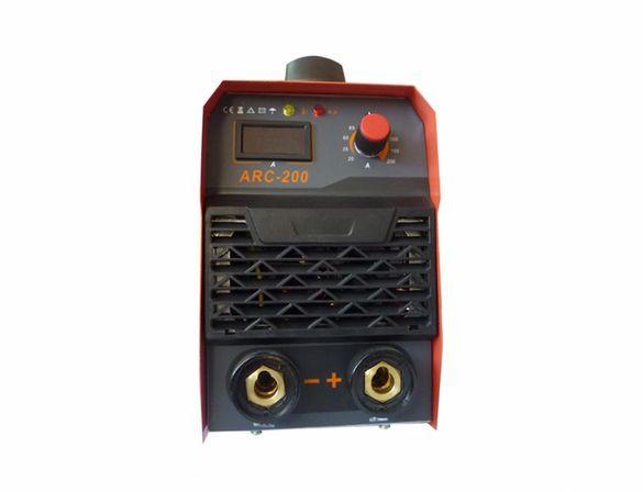 Електрожен инверторен ТИГТАГ ARC200 с гаранция и фото соларна маска