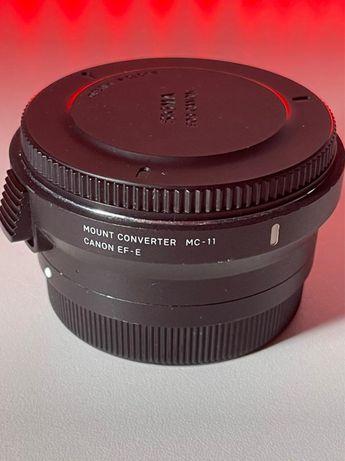 Переходник sigma mc-11 canon EF-E для Sony цена 70000