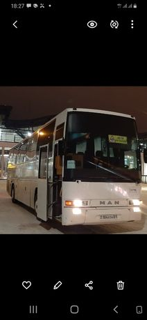 Заказ автобусов Боровое и пригородные зоны отдыха