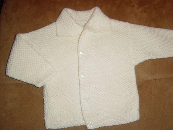 Топла бебешка жилетка