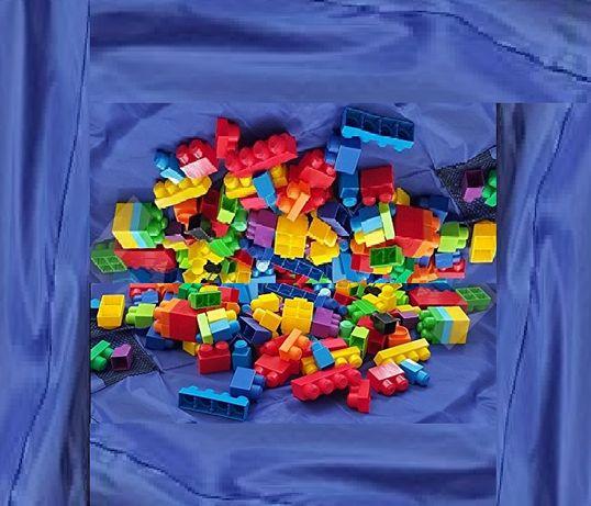 Многокомпонентен и многофункционален детски конструктор -107елемента