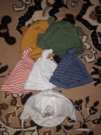 Продам шапочи на малыша