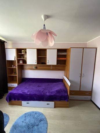 Vand dormitor tineret Lems + saltea dormeo Nou !