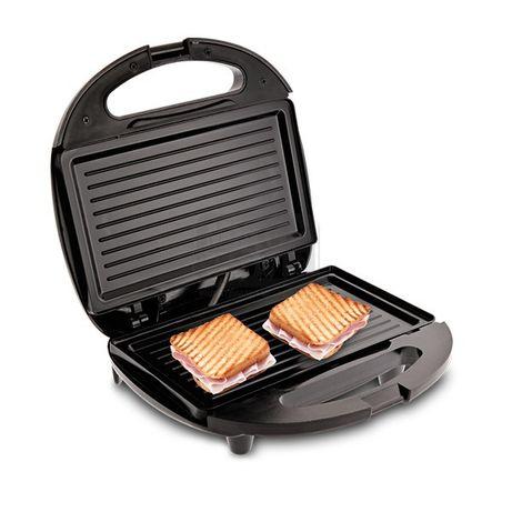 ГАРАНЦИЯ! Тостер-сандвич с незалепващо покритие EK-6061, Мощност 750W,