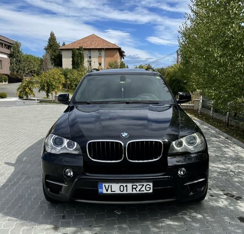 BMW X5 3.0D 245 CP /Facelift/Euro 5/Panoramic/Bi Xenon/Navigatie mare