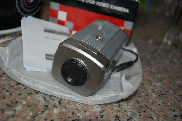 Box видео камера 0.5 МП със звук охранителна cctv