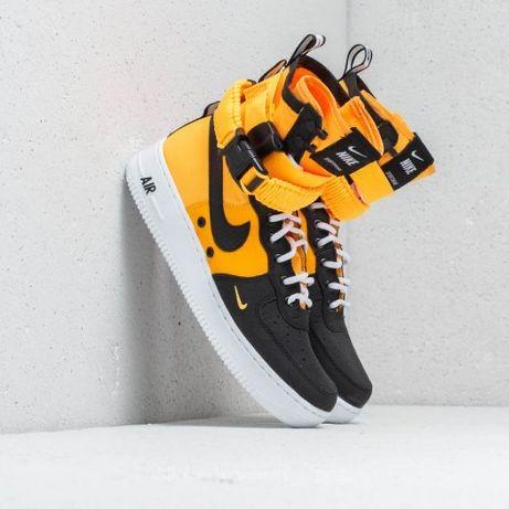Nike AF SF 1 High Orange Laser