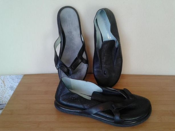 Pantofii + Sandale 96 hours Puma din Italia - 28 cm interior rar - UNI
