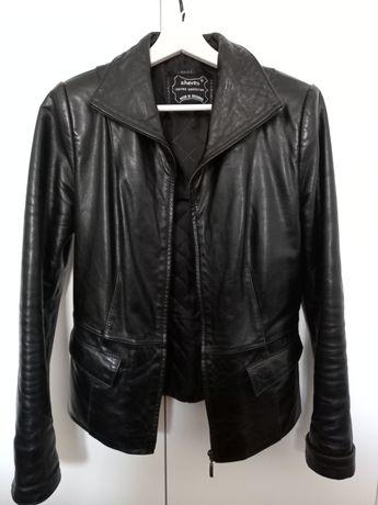 Дамско яке естествена кожа, размер S-M
