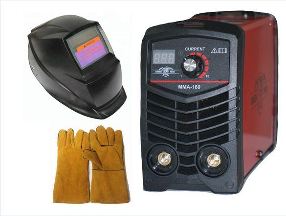 Високо качество Инверторен IGBT електрожен ММА 160А реални ампера с ди