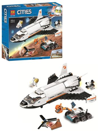 Аналог Lego 60226, Lari 11385 Шаттл для исследований Марса. Лего сити.