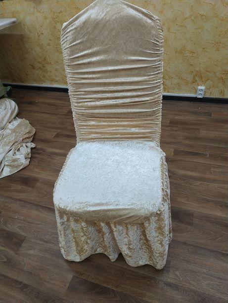 Чехлы на стулья и скатерти