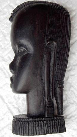 statueta veche unicat abanos arta africana antichitati de colectie