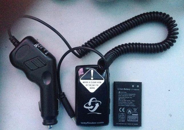 Vand receptor GPS extern Bluetooth cu acumulator si incarcator auto