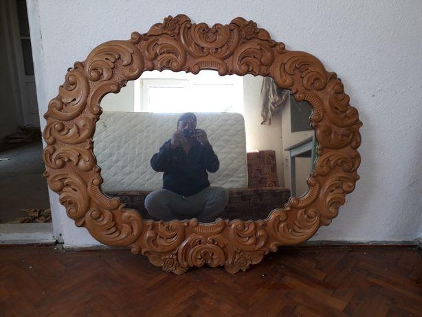 Vînd oglindă scluptata de mînă originală