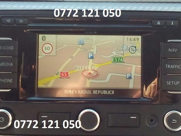 Harti Volkswagen,Seat,Skoda,Rns 310,315,Rns 510,850 Touareg,Columbus