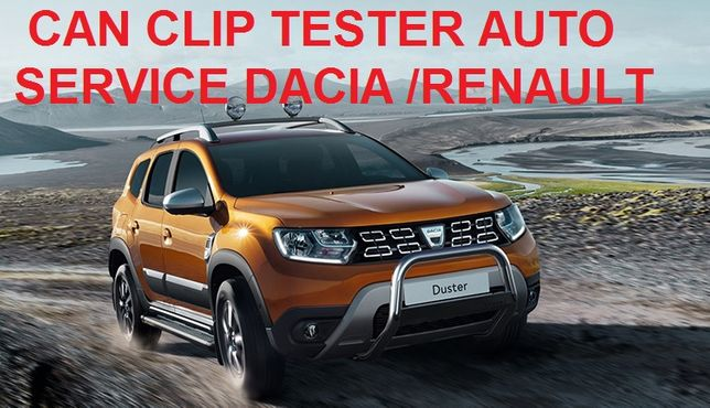 Can Clip 2 Tester Auto Renault/Dacia update 2019 Versiune Profesionala