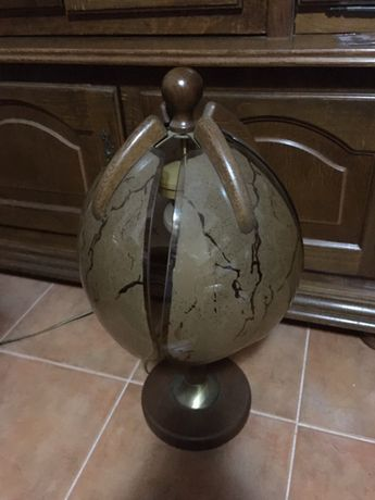 Lampa ornamentala Germania ( Lemn masiv  si alama)