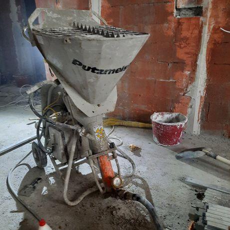 Штукатурка под маяк левкас все с агрегатом быстро качественно