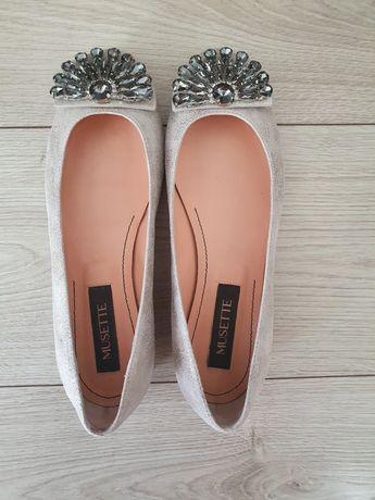 Нови обувки Musette, тип балеринки, 37 размер
