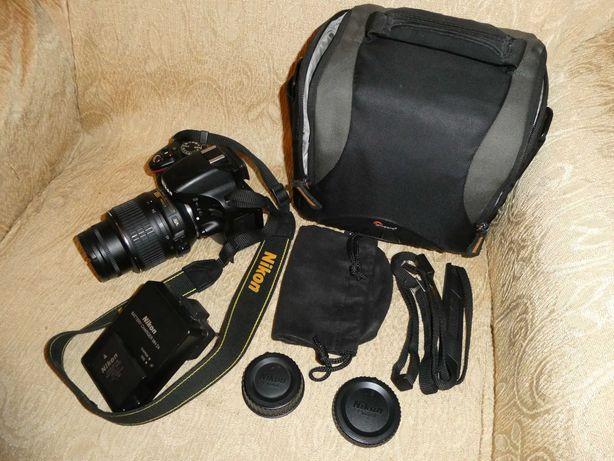 KIT - DSRL NIKON D5100 + Obiectiv AF-S DX NIKKOR 18-55 + Card + Geanta