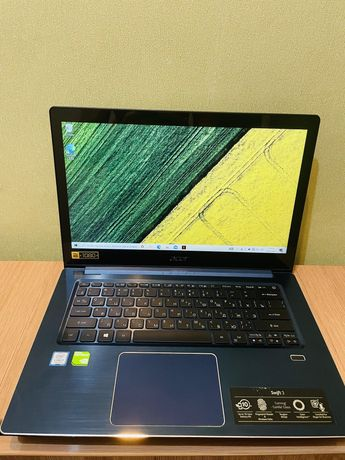 Ультрабук Acer Swift 3 - i7 8550u / 8gb Ram / 256 SSD