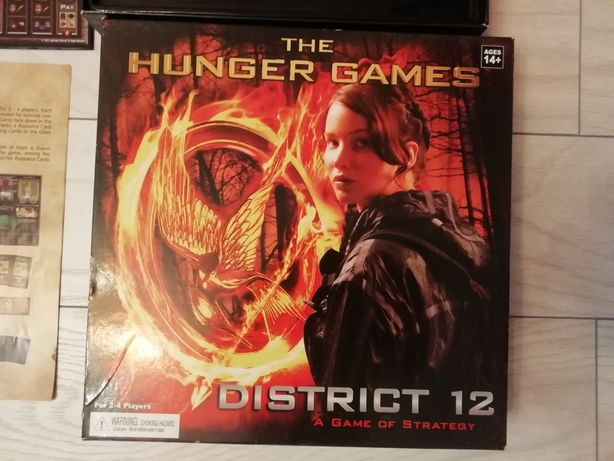 """Board game """"The Hunger  Games - District 12"""""""