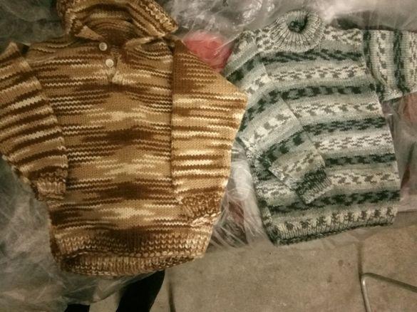 Истински детски вьлнени блузи , меки и топли