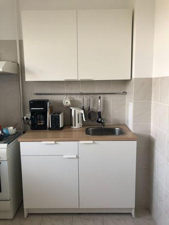Кухонный гарнитур IKEA КНОКСХУЛЬТ со встроенной мойкой и смесителем