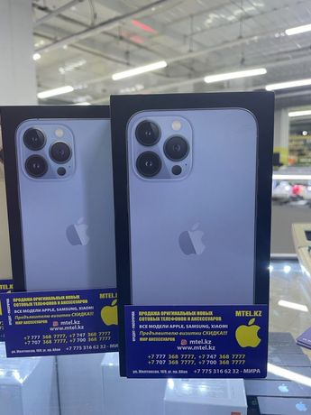 Apple iPhone 13 Pro 128gb blue айфон 13 про 128гб голубой акция акция