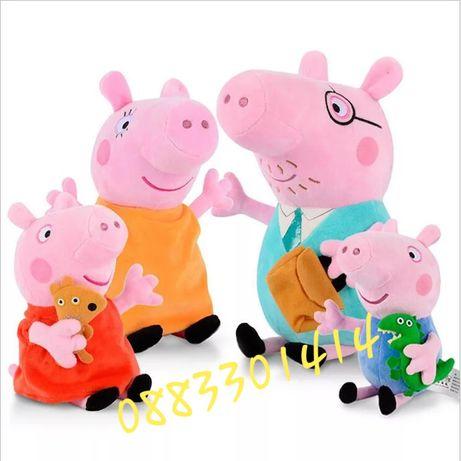 Пепа Пиг цялото семейство Peppa Pig големи