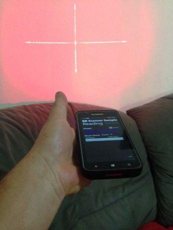 smartfon BLUEBIRD cu nivel laser