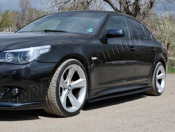Tунинг добавки за М-техник ( M-Tech ) прагове и задна броня за BMW E60