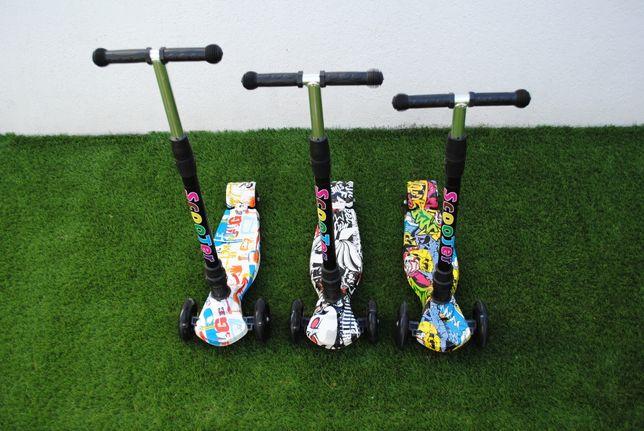 Trotineta Scooter cu lumini , 3 modele