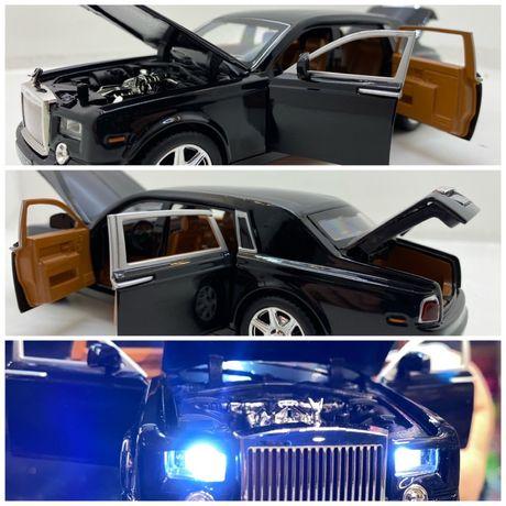 Macheta Rolls Royce Phantom 1:24 cu sunete si lumini