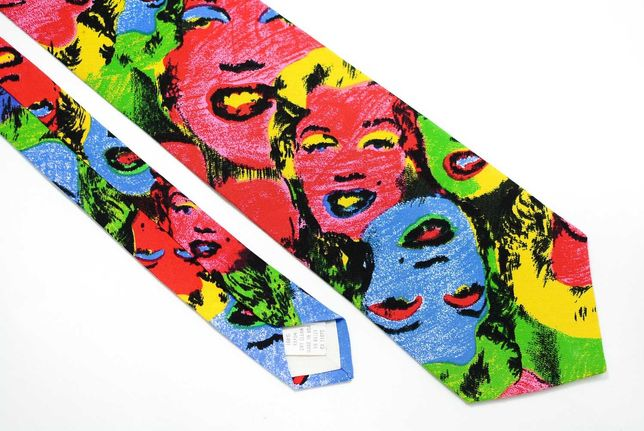 Cravata Barbati Vintage Ralph Marlin Marylin Monroe Clasica CR150